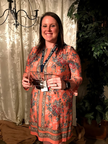 Congratulations EBW Teacher of the Year! Tara Ragland